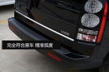 Накладка на крышку багажника (кант), матовая нерж. сталь