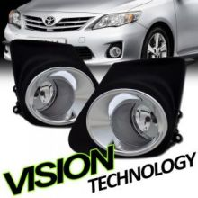 Противотуманные фонари с накладками, к-кт с проводкой, на седан с 2011г.в.