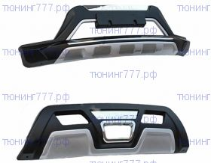Накладки на бампера, cnt4x4, 2шт