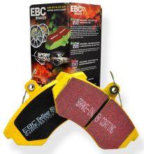 Колодки тормозные, EBC, серия Y-Stuff, передний к-кт для 4.2 Supercharged