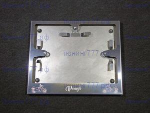 Рамка номера для мотоцикла, ТСС, нерж. сталь