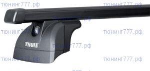 Багажник на крышу со встроенными рейлингами, Thule, прямоугольные дуги