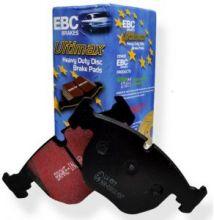 Тормозные колодки EBC, серия Ultimax Black Stuff, передние для 1.6л (120л.с.)