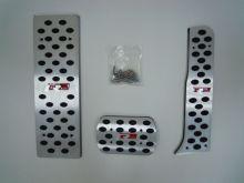 Накладки на педали, cnt4x4, с лого R-Line, алюминий, а/м с Акпп