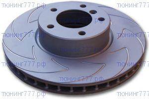 Тормозные диски EBC, серия Blade Sport Disk (BSD), передний к-кт для 3.2л