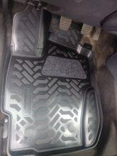 Коврики в салон, Aileron, 3D полиуретановые, для 4WD с 2016г.в.